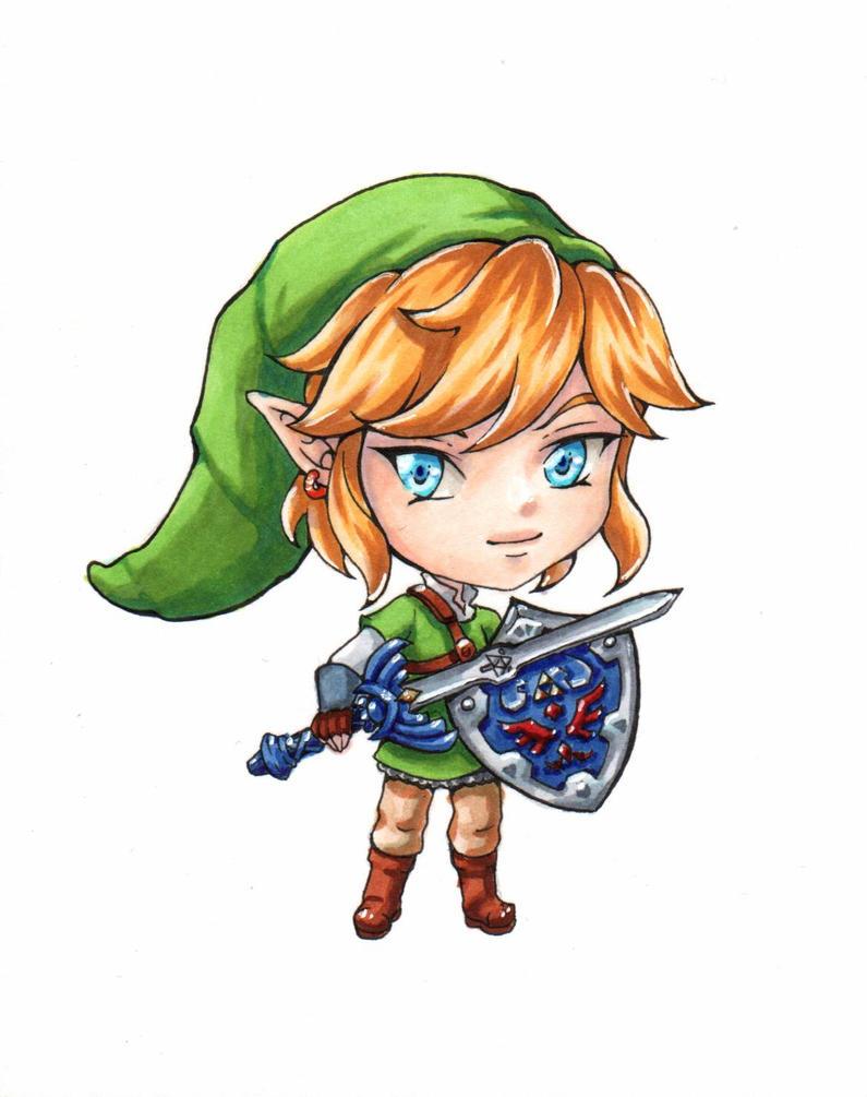 Chibi #1: Skyward Sword Link by Bella-ran