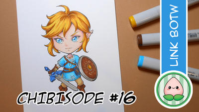 Youtube Process Video: Link BOTW by Bella-ran