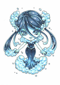 Chibi #37: Water Elemental