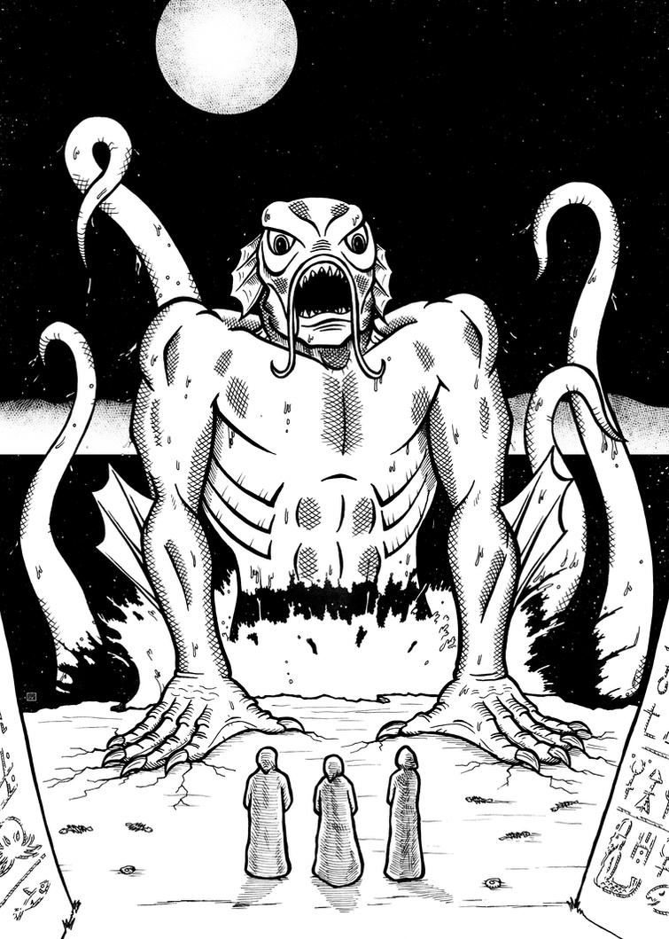 Dagon by DavidWFisher