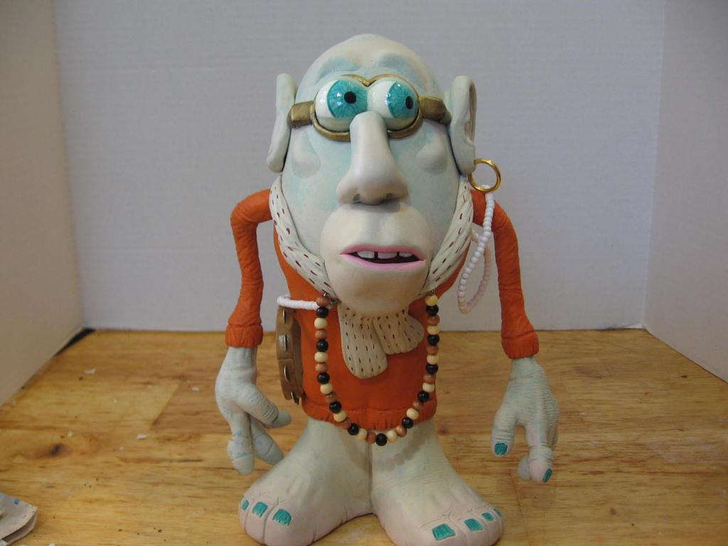 Hare Krishna Zombie Poatohead by Potatoheadmaster
