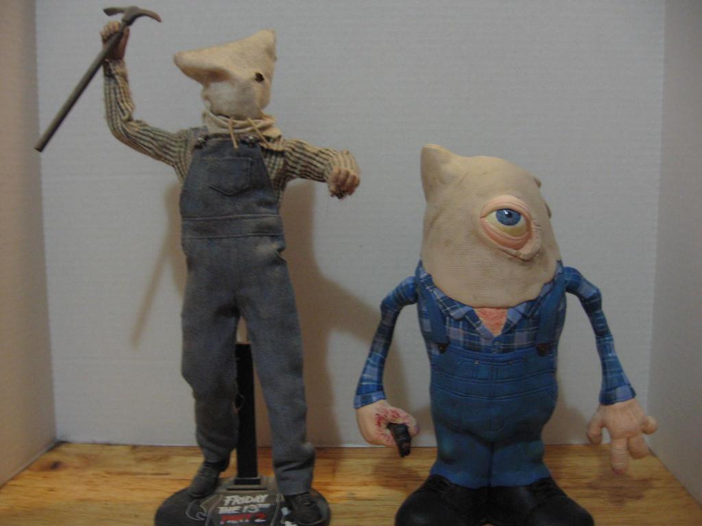 Jason Voorhees Pt2 Potatohead with Sideshow figure by Potatoheadmaster