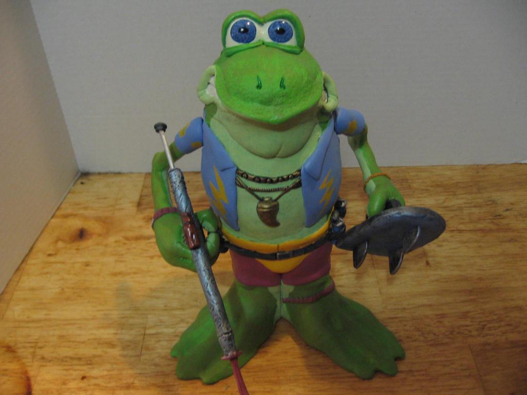 Genghis Frog Potatohead by Potatoheadmaster
