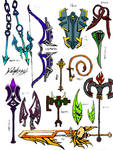 Zodiac Weapons Colored