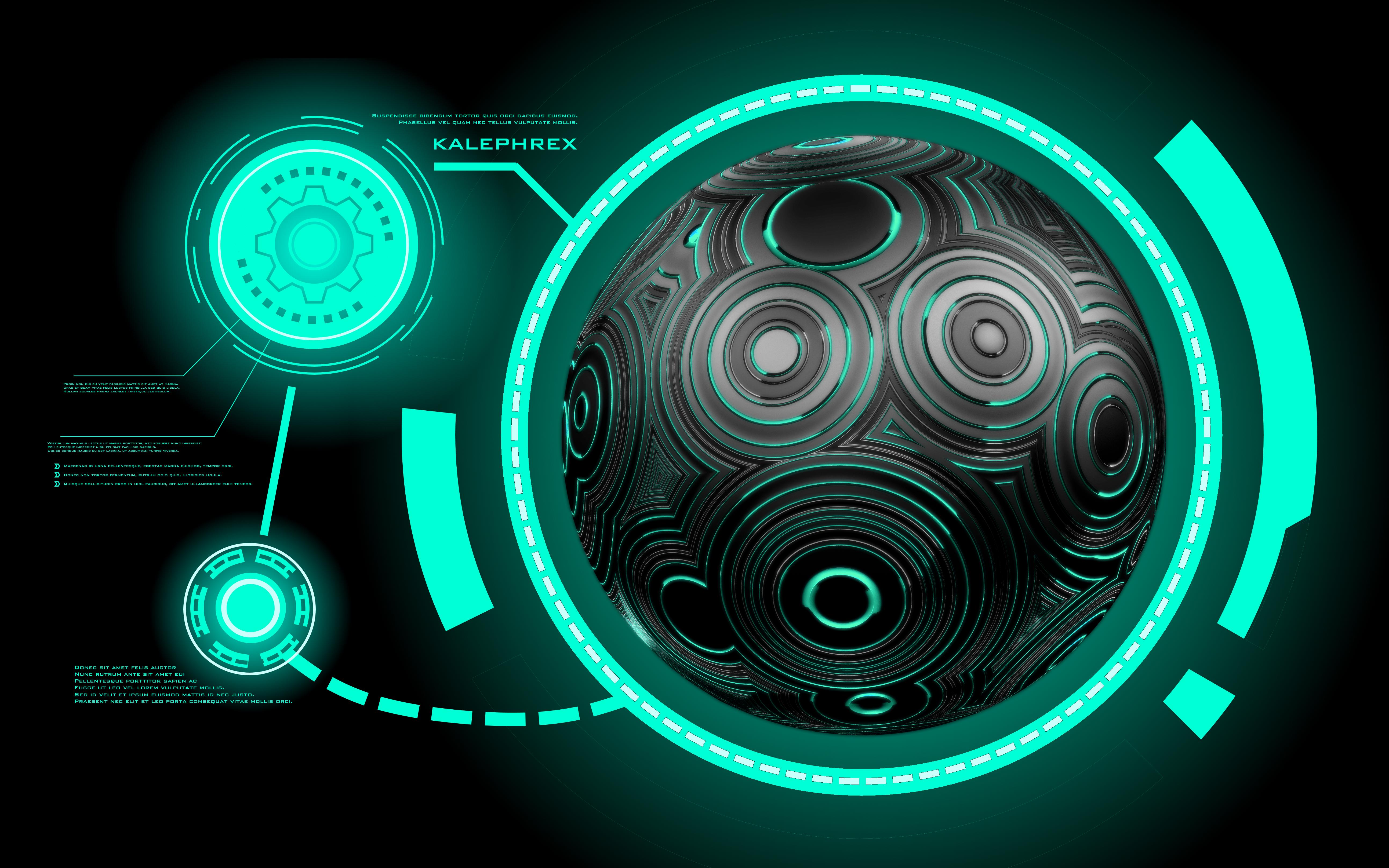 High Tech Orb Wallpaper By Kalephrex On Deviantart