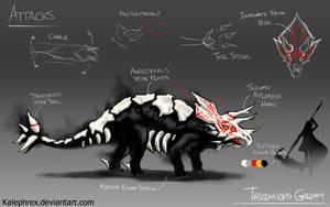 Triceratops Grimm (RWBY original Fanart)