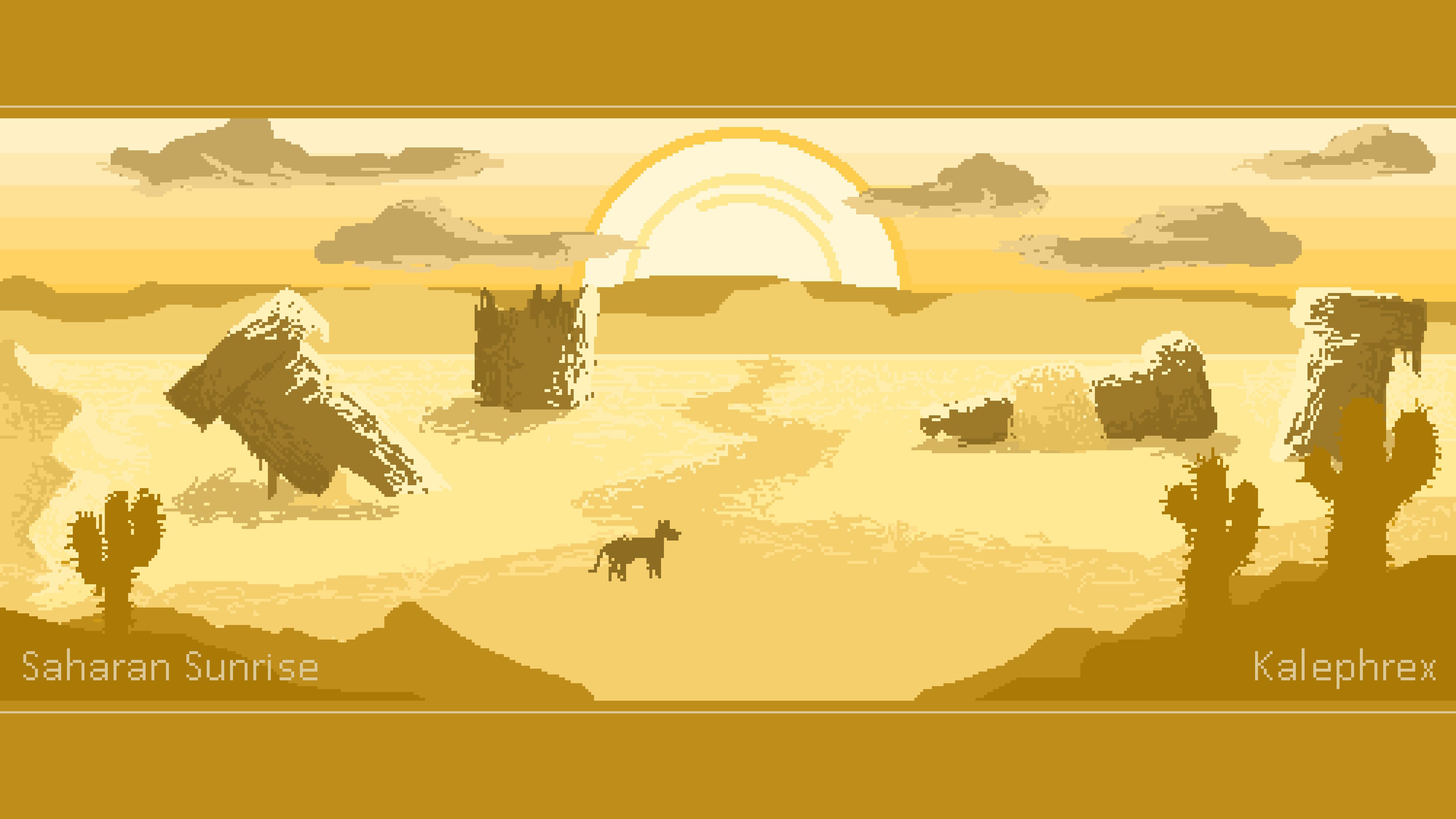 Sahara Sunrise [Pixel Art]