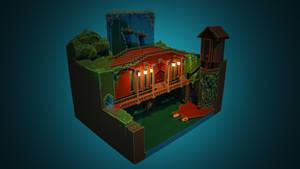 Bridge House (Experimental Re-render)