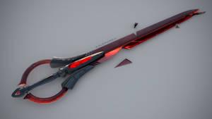 Cinnabarite Blade