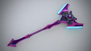 Sci-Fi Battleaxe