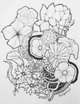 Flower Power - Inktober 1/1