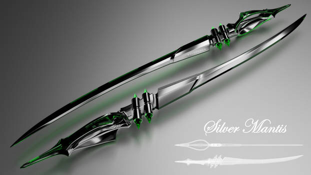 Silver Mantis (Style B)
