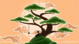 Mountain Bonsai - Pixel Art