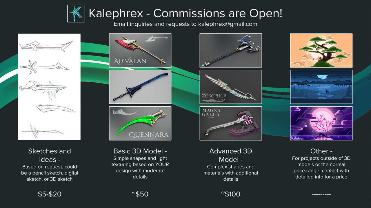 Kalephrex - Commissions are [OPEN]