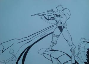 Batman on TDKR by Frank Miller