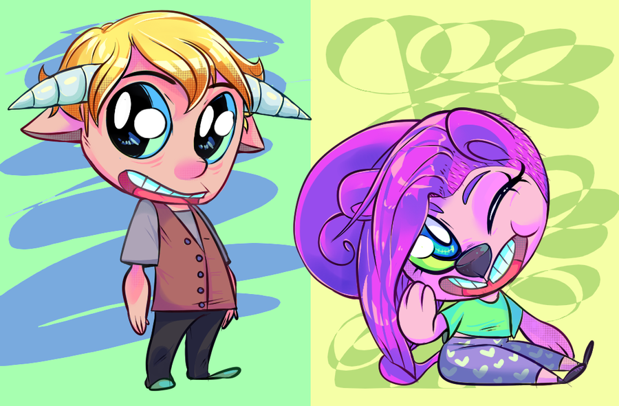 chibis are cute ya know by PommeButt