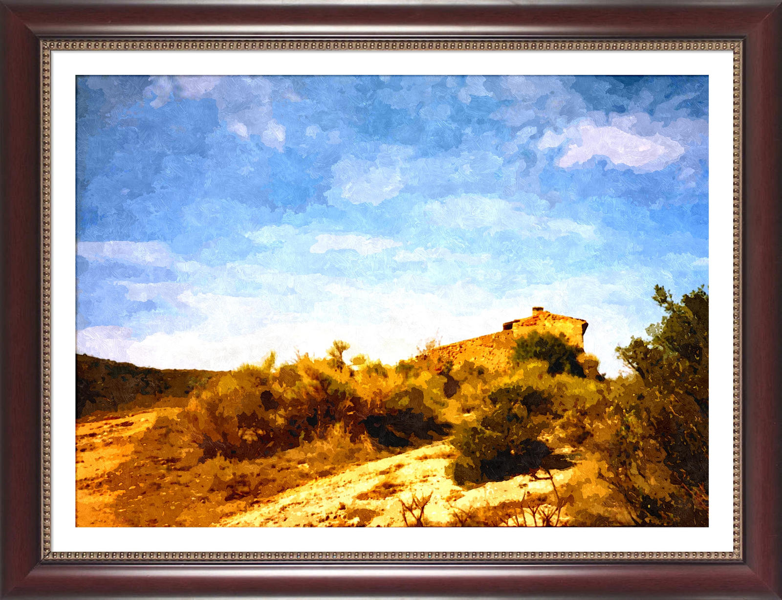 Paysage des bouches du rhone france by tityrus on deviantart for Bouches du rhon