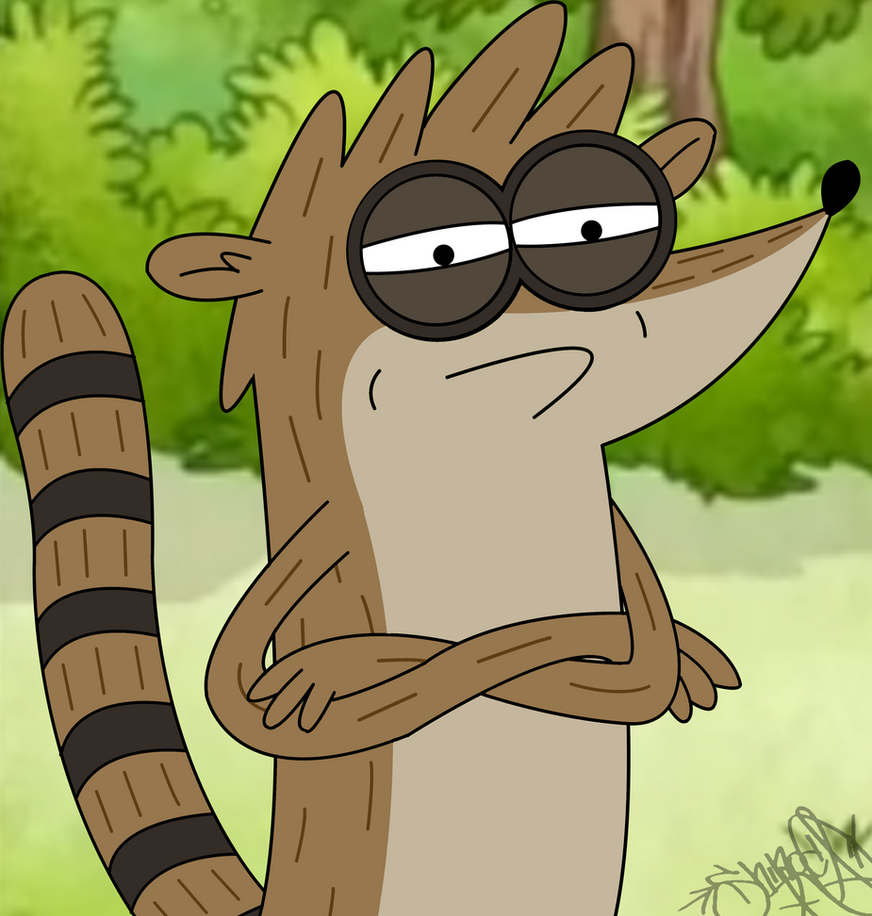 Rigby Challenge Accepted by ShinodaGE