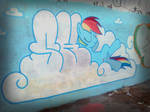 Graffiti My little pony