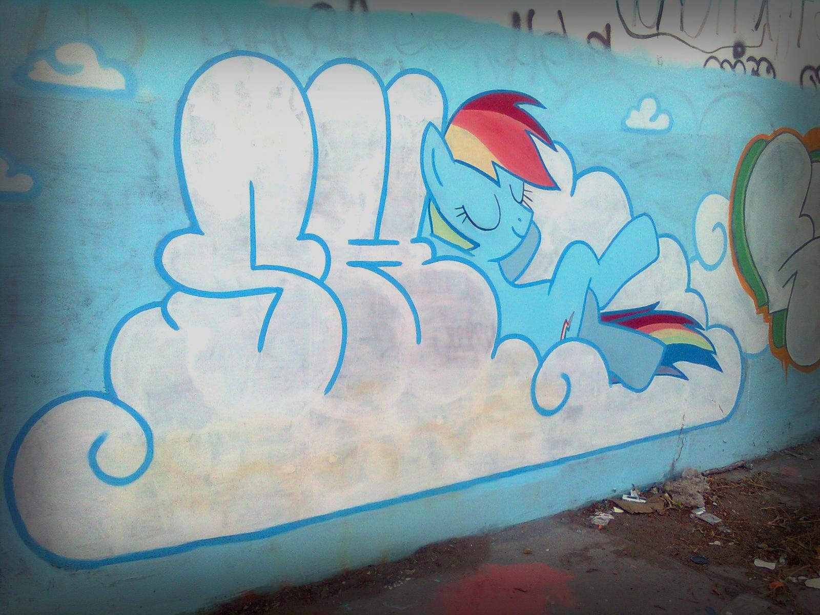 Graffiti My little pony by ShinodaGE