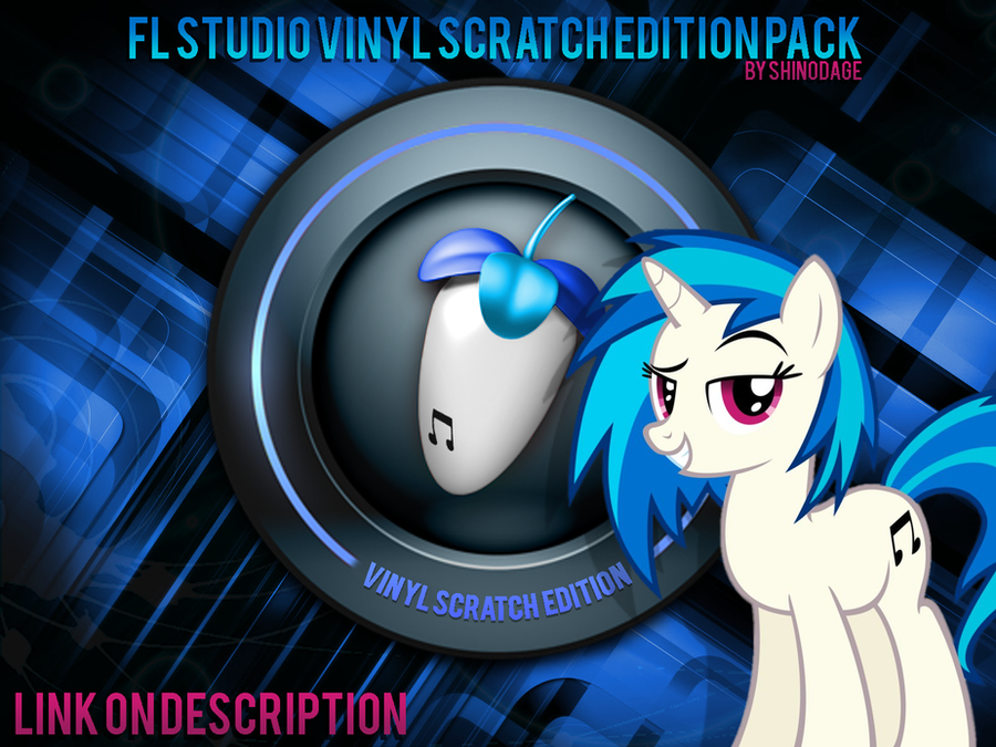 Vinyl Scratch Flstudio Plugin and Skin Final ED by ShinodaGE