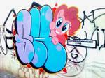 My little pony graffiti, Pinkie Pie!