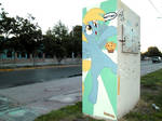 Derpy Hooves Graffiti (Another view)