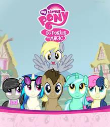 BG Ponies are Magic by ShinodaGE