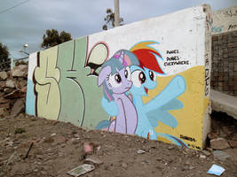 Ponies Everywhere Graffiti