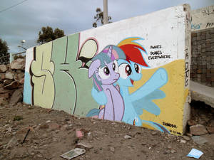 Ponies Everywhere Graffiti