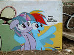 Ponies Everywhere Graffiti (Another View)