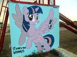 Twilight Sparkle Graffiti