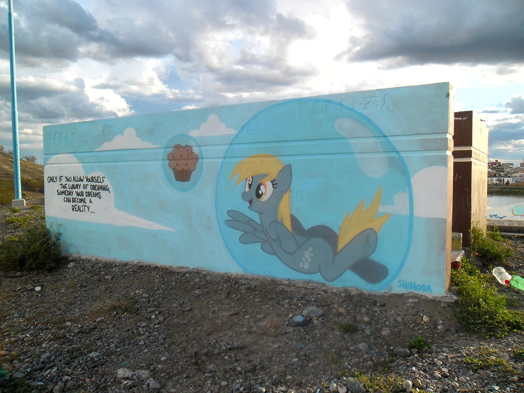 Derpy Hooves Graffiti by ShinodaGE
