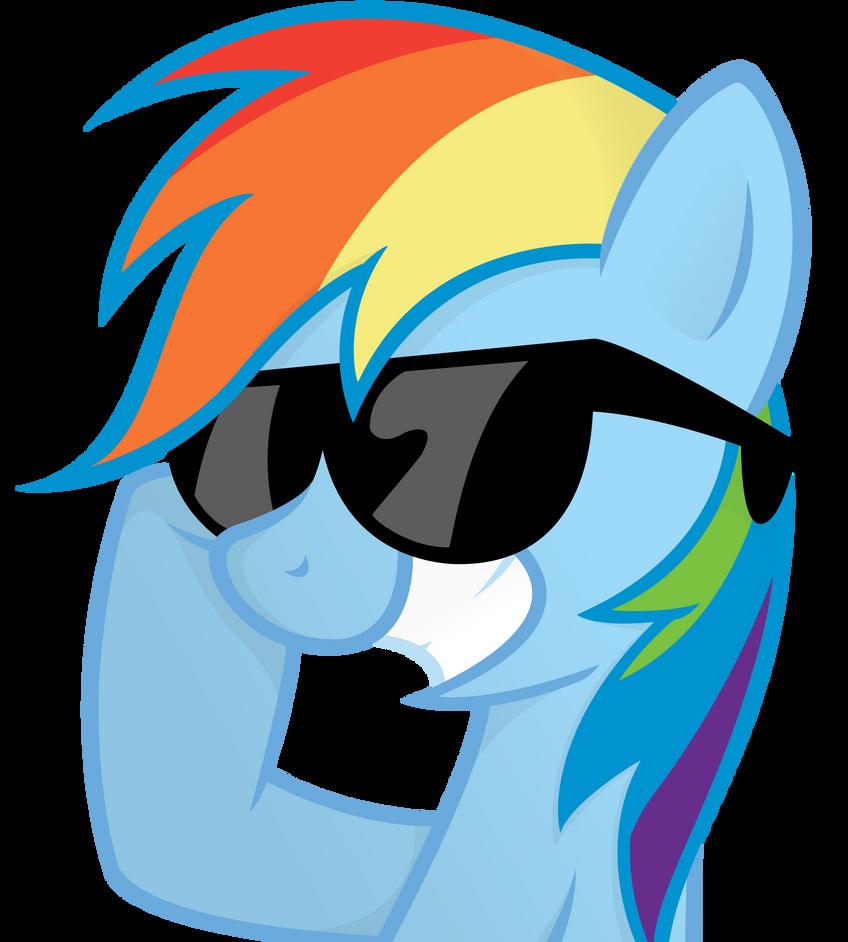 Rainbow Sunglasses by ShinodaGE