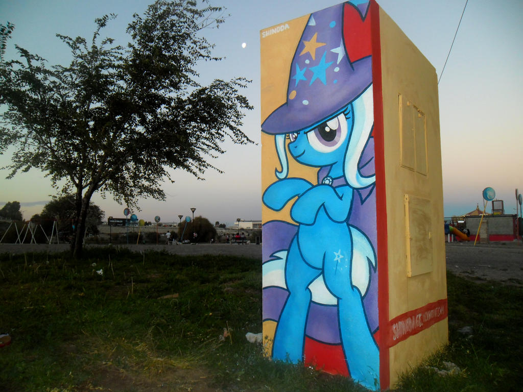 Trixie Graffiti by ShinodaGE