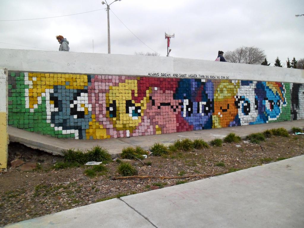 Always Dream - Pixel Art Graffiti