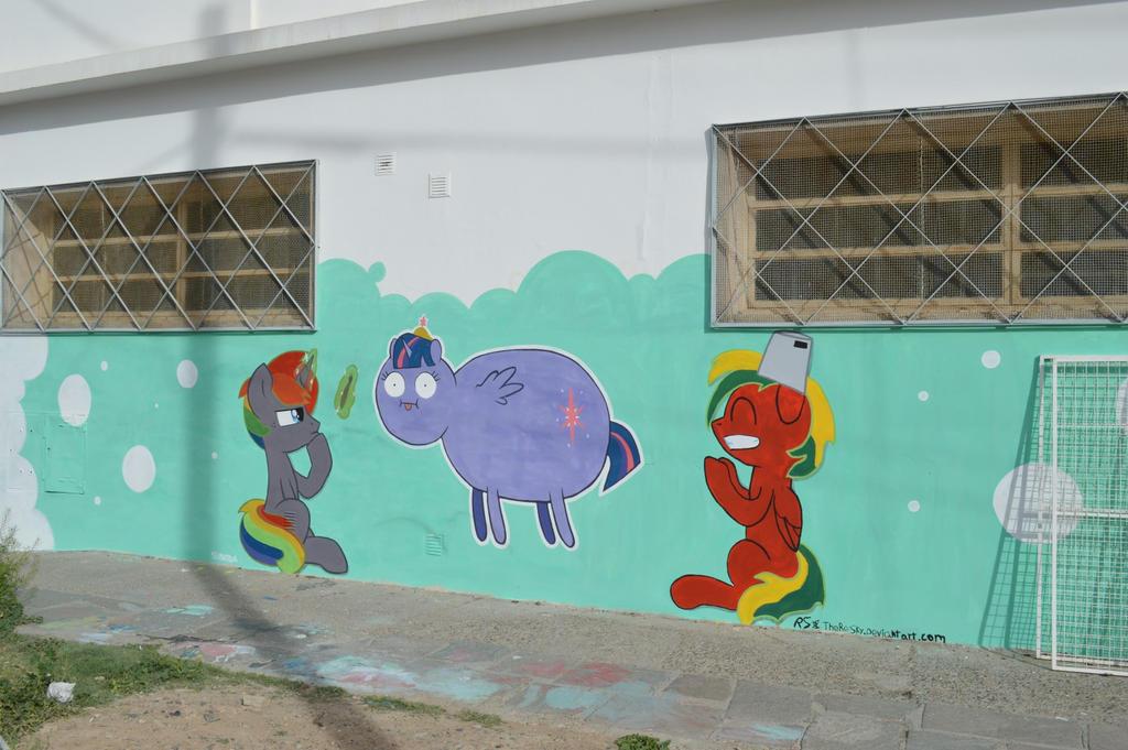 Pony Street Artists by ShinodaGE