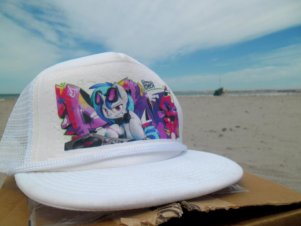 Vinyl Scratch Cap