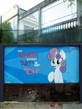 eARTh - Sweetie Belle Graffiti