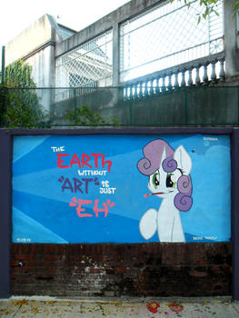 eARTh - Sweetie Belle Graffiti