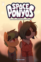 Space Ponyos comic book issue 2