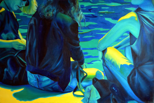 Waiting for the summer, 2014, 120-80cm, oil on can