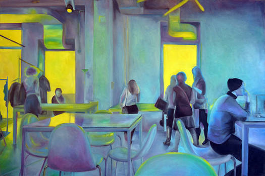 A moment in time, 2011, 120-80cm, oil on canvas