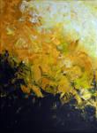 Golden Feelings, 2017, 40-30cm, acrylic on canvas
