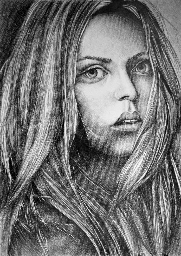 What about now, 2017, 50-70cm, graphite crayon by oanaunciuleanu