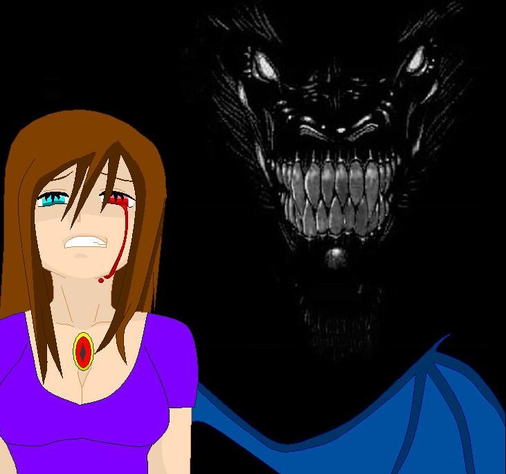 dark evil dragon by bajecznamirra on deviantart