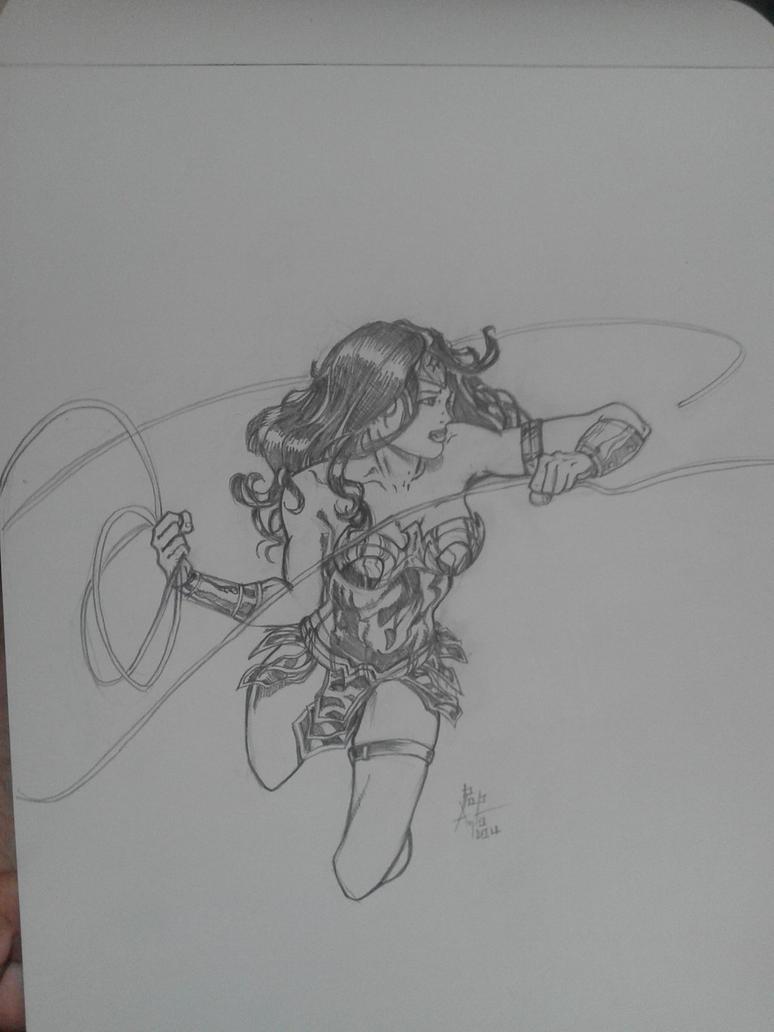 Wonder Woman by ChrisPapantoniou