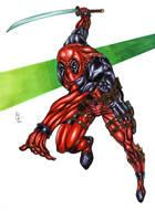 Deadpool by Chris Papantoniou by ChrisPapantoniou