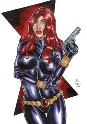 Black Widow!! by ChrisPapantoniou