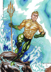 Aquaman! by ChrisPapantoniou